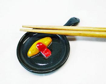 スキレット型箸置き(オムライス)1-1.JPG