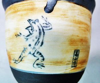 鳥獣戯画フリーカップ(アンティーク調)A-7.JPG