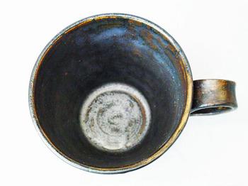 アンティーク調マグカップ(英字新聞柄)6.JPG