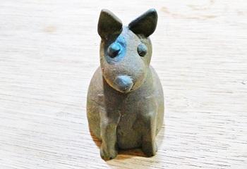 ミニ犬の置物(ブルテリア)1.jpg