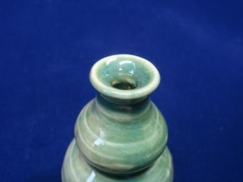 ミニ花器(ひょうたん青緑色)6.jpg