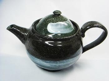 白刷毛目コーヒーピッチャー(黒御影)1.jpg
