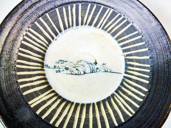 鳥獣戯画のカップ&ソーサーのセット8.JPG
