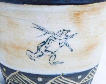 鳥獣戯画マグカップ(アンティーク調仕上げ)4.png